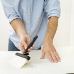 rénovation de papier peint intissé